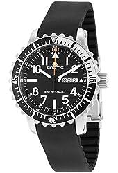Fortis Men's 670.17.41 K B-42 MARINEMASTER DAY/DATE Analog Display Automatic Self Wind Black Watch