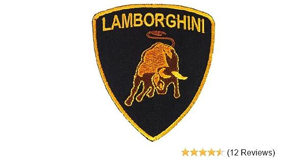 Amazon Com Lamborghini Tonino Shield Sport Car Jacket Shirt Iron On