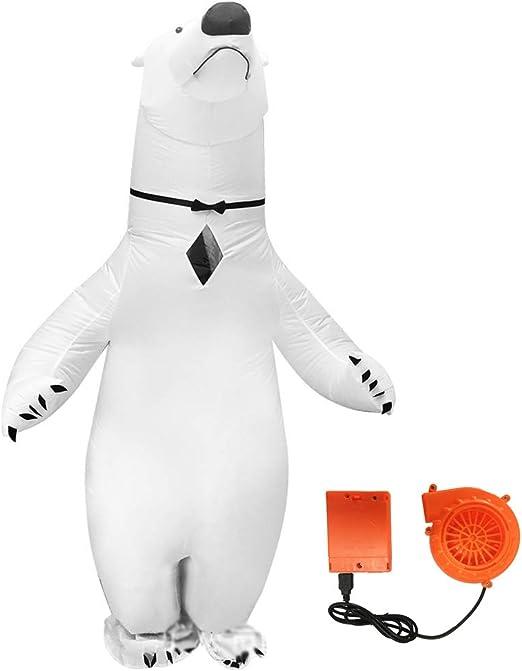 Disfraz De Oso Polar Inflable Adulto Disfraz Disfraz Cosplay ...