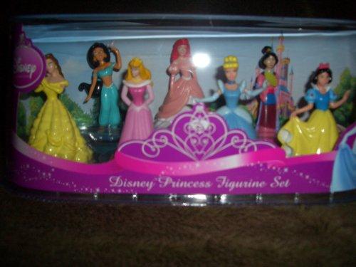 Disney Princess 7 Piece Figure Set