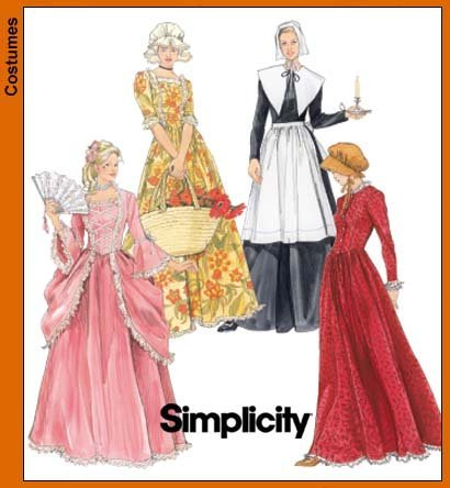 Simplicity Centennial Sewing Pattern 5041. Misses Sizes 10;12;14 Early American & Pilgrim (Pilgrim Costume Pattern)