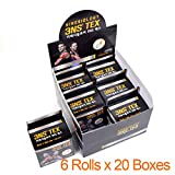 3NS TEX Premium Kinesiology Cotton Elastic Physio Tape Athletic Therapeutic Muscle Care Sports Tape (2Inch x 16.4Ft) (Random (120 Rolls))