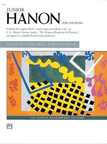 Hanon Piano Book - Junior Hanon (Alfred Masterwork Edition)