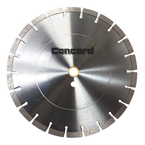 Industrial Diamond Saw Blade - Concord Blades SSB140C12CP 14 Inch 12mm Segment General Purpose Premium Segmented Diamond Blade