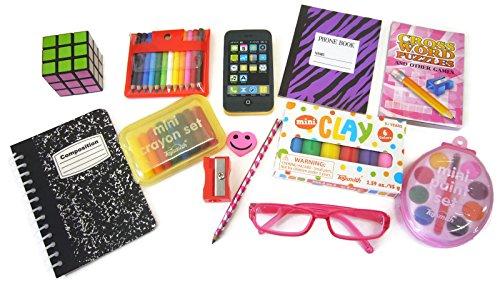 School Girl Accessories (13 Piece School Supply Set for 18