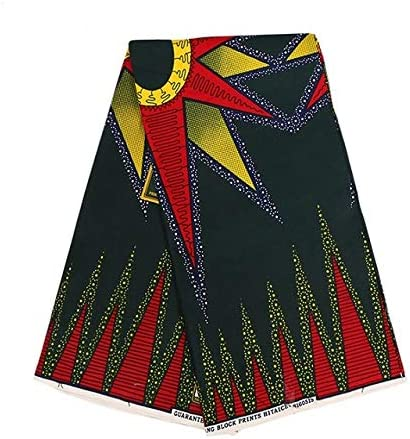 XuBa Ankara African Polyester Wax Prints Fabric Super Hollandais Wax 6 Yards African Fabric for Party Dress 1