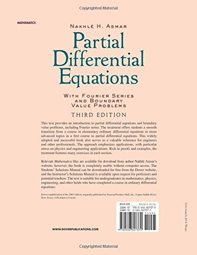 buy partial differential equations with fourier series and boundary rh amazon in solution manual partial differential equations strauss pdf solution manual partial differential equations