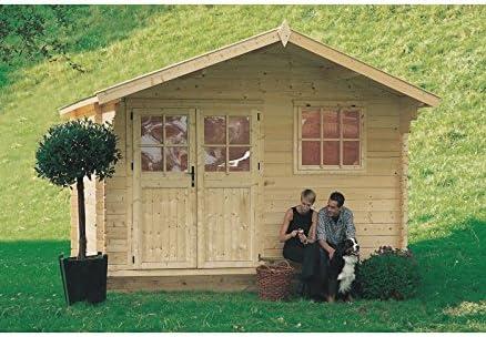 Casa Rosita (madera de abeto de jardín: Amazon.es: Hogar