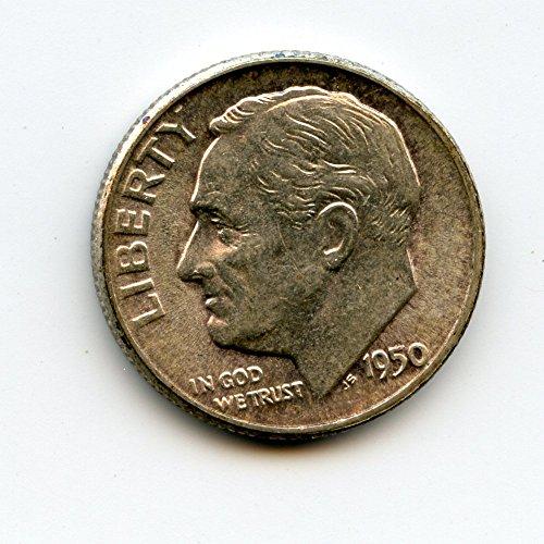 1950 Roosevelt Dime MS-64
