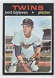 Bert Blyleven COMC REVIEWED Good to VG-EX (Baseball Card) 1971 Topps #26