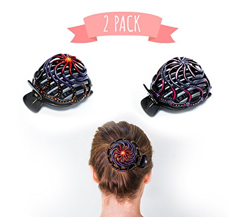 96bbcd39bac Home Hair Styling for Women   Girls Made Easy. This Attractive Hair  Accessory can be use as a bun maker or a hair clip.