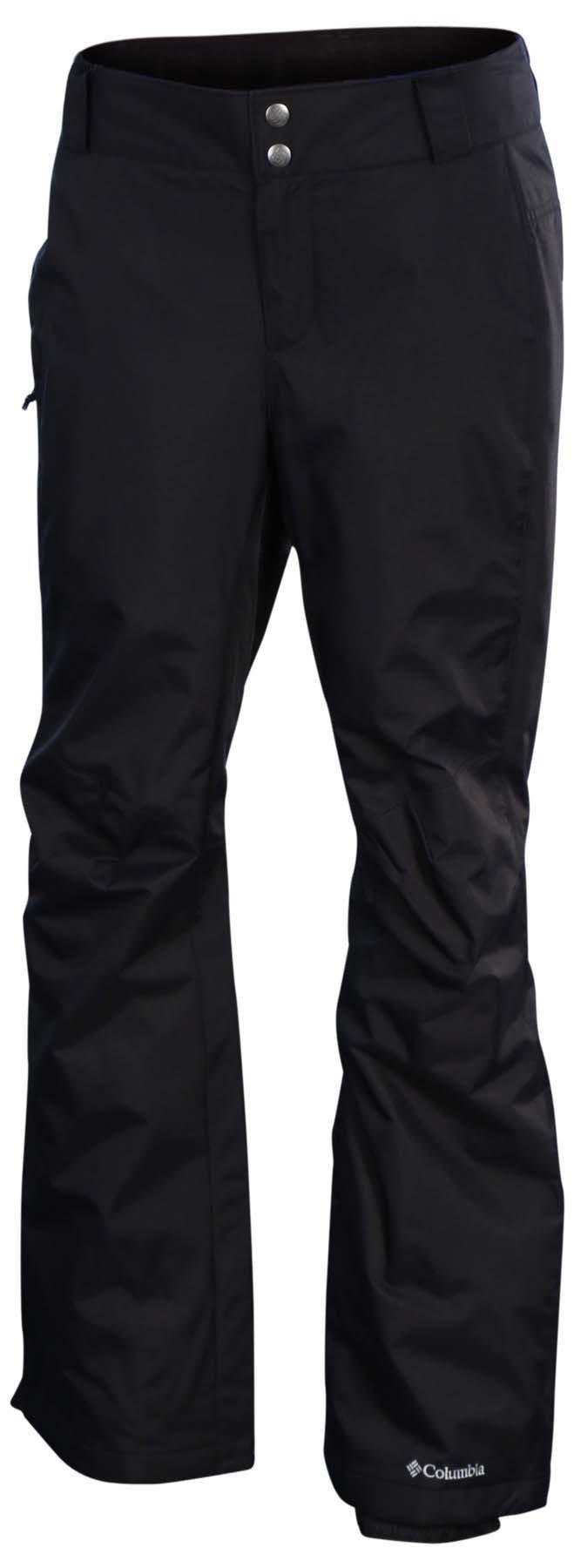 COLUMBIA Womens Arctic Trip Ski Snow Pants STYLE:XL8185-010 BLACK SHORT (LARGE SHORT)