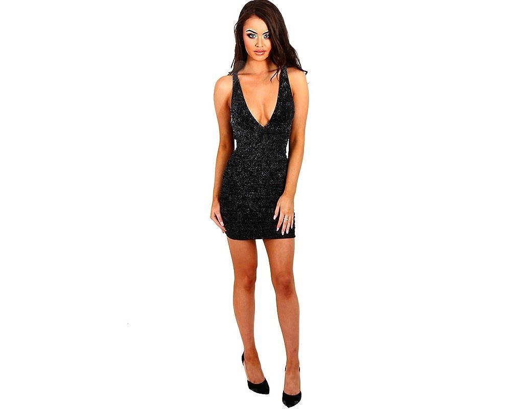 Vestidos Ropa De Moda 2018 Para Mujer De Fiesta y Noche Elegante VE0018 at Amazon Womens Clothing store:
