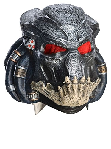 Best Value Vinyl Predator Mask for Adult - Wipe Clean