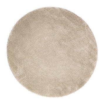 IKEA ADUM Langflor Teppich in elfenbeinweiß; (195cm): Amazon ...