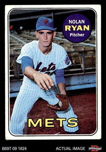 - 1969 Topps # 533 Nolan Ryan New York Mets (Baseball Card) Dean's Cards 2 - GOOD Mets