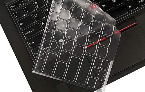 Ultra Thin Clear Keyboard Protective Skin Cover for 14 Lenovo Thinkpad X1 Carbon 2017/2018, ThinkPad X1 Yoga 2017/2018 Gen, 14 ThinkPad A475 L460 L470 T460 T460p T460s T470 T470p T470s Laptop
