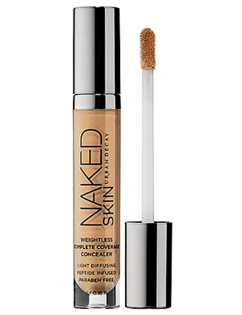Urban Decay Naked Skin Weightless Complete Coverage Concealer, Light Neutral, 0.16 Ounce