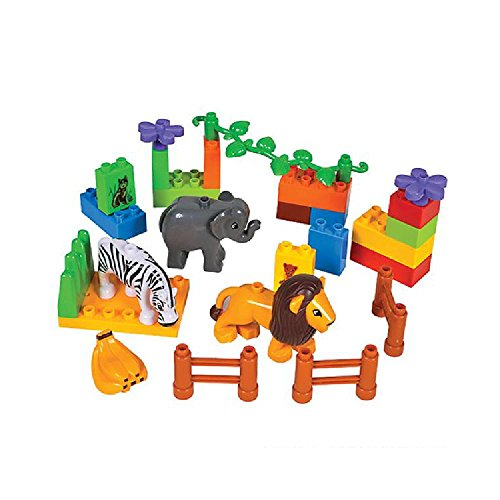 26 Pc Zoo Block Set by Bargain World