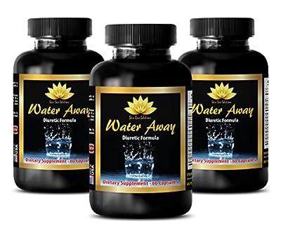 Metabolism cleanse - WATER AWAY PILLS NATURAL FORMULA 700MG - Green tea bulk - 3 Bottle (180 Capsules)