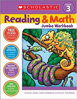 Book Reading & Math Jumbo Workbook( Grade 3)[READING & MATH JUMBO WORKBK GR]