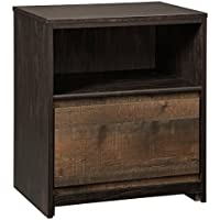 Signature Design by Ashley B320-91 Windlore Rustic, Nightstand, Dark Brown