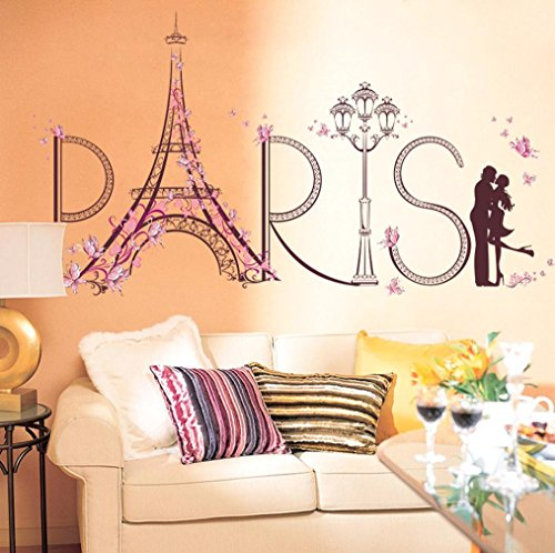 Wall Stickers Romance Decoration Wall Poster Home Decor