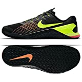 ea355fd9ad589c NIKE Men s Metcon 3 Training Shoe Black Volt-Hyper Crimson-HOT Punch 9.5