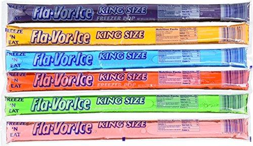 Fla-vor-ice Freeze Pops, 6 Assorted Flavors 45 x 5.5 Oz