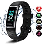 Letsfit-High-End-Fitness-Trackers-HR-IP68-Waterproof-Activity-Tracker-with-Heart-Rate-Monitor-Watch-Step-Counter-Sleep-Monitor-Pedometer-Watch-for-Women-Men