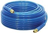 "Apache 15026302 1/4"" x 50' 200 PSI Blue Reinforced Polyurethane Air Hose"