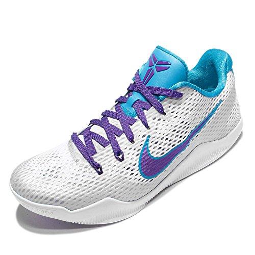 Nike Menns Kobe Xi Ep, Utkast Dag-hvit / Domstol Lilla-blå Lagune