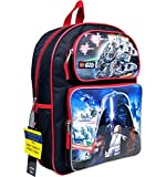 """Lucasfilm New Lego Star Wars Large 16"""" Backpack"""