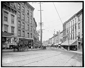 Photo Water Street Commercial Facilities Buildings Signs Newburgh New York Ny