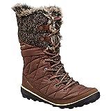 Columbia Heavenly Omni-Heat Knit Snow Boot Winter Shoe - Tobacco/Dark Mirage - Womens - 8.5