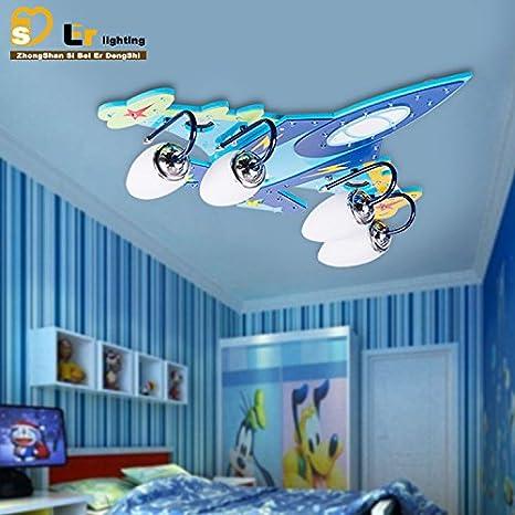 GH lámpara de techo PVC el plafón avión LED de iluminación ...