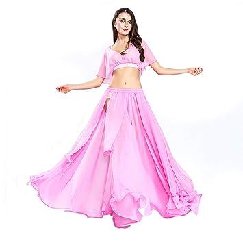 ROYAL SMEELA Traje de Danza del Vientre Traje de Danza del Vientre Traje de Danza del Vientre Traje de Baile Trajes de Falda Sexy Falda de Rendimiento ...