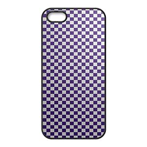 Simple grid pattern Phone Case for iPhone 5S(TPU)
