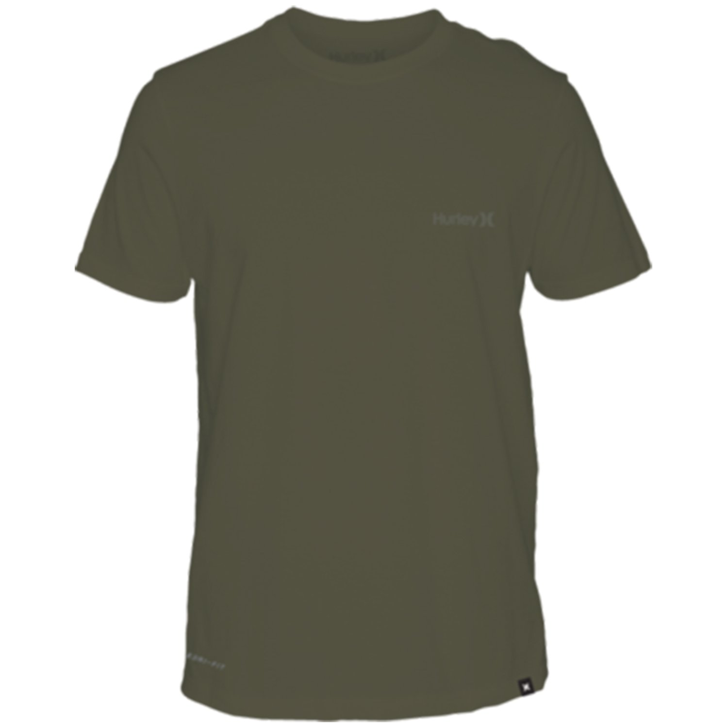 Hurley  Men's Dri-Fit One & Only 2.0 Tee Olive Canvas Medium