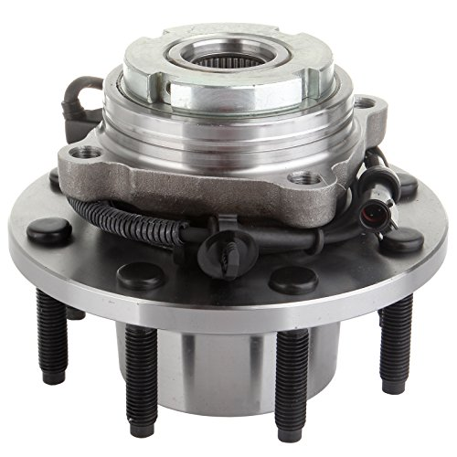 OCPTY Wheel Bearing Hub 515020 Front Bearing Assembly W/ABS 8 Lugs fit for 2000-2005 ford Excursion,1999 ford F-250, 2000-2002 ford F-250 Super Duty,1999 ford F-350,2000-2002 ford F-350 Super Duty (2010 Honda Accord Front Wheel Hub Assembly)