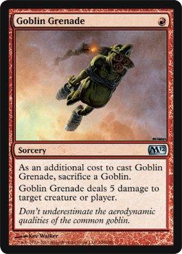 Magic: the Gathering - Goblin Grenade - Magic 2012