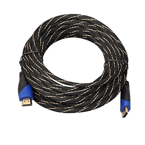 0.5M Braided HDMI Cable V1.4 AV HD 3D for PS3 Xbox HDTV 1080P - 6