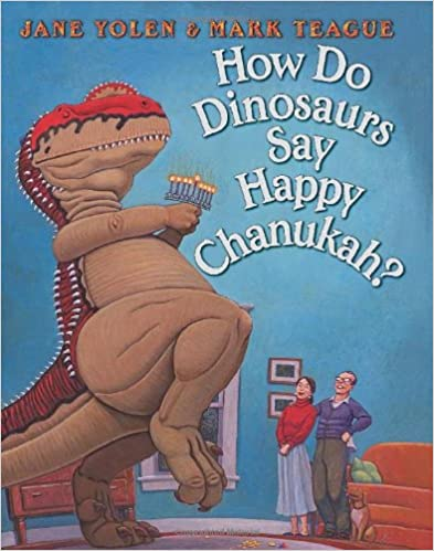 How do Dinosaurs Say Happy Chanukah? Book Cover
