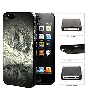 Benjamin Franklin 100 Dollar Bill Hard Plastic Snap On Cell Phone Case Apple iPhone 4 4s