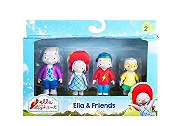 c40fc5e7fc9ecf Image Unavailable. Image not available for. Colour  ELLA THE ELEPHANT Ella  and Friends Figures (Pack ...