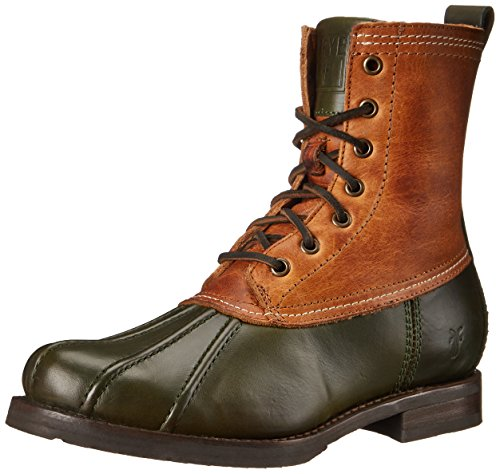 (FRYE Women's Veronica Duck Bootsfgwshovnsh Winter Boot,  Forest Multi, 8 M US )