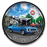 1969 SS Camaro Gulf Lighted Clock Review