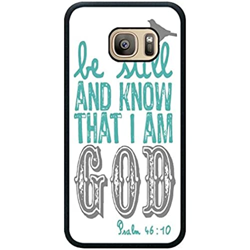 Minffc Unique With Bible Verse Be Still And Know Protective Case Cover For Samsung Galaxy S7 Sales