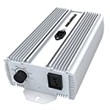 1000W DE Digital Dim Ballast, HPS & MH Supported, XTRAHYDRO Double Ended WEN 1000 Watt Electronic Ballast for Grow Light Review