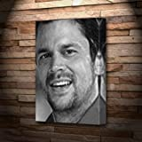 wildboyz season 2 - JOHNNY KNOXVILLE - Canvas Print (LARGE A3 - Signed by the Artist) #js001